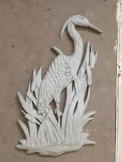 4' Standing Heron