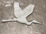 3' Flying Heron