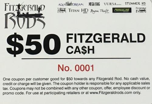 Fitzgerald Cash $50.00 Gift Card