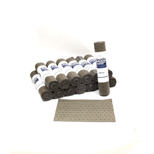 KINETIX SPILL ABSORBENT SHOP ROLLS - MASTER PACK L91908PM