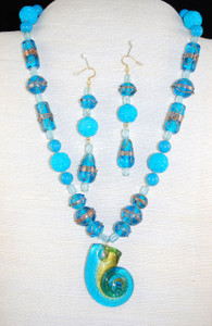 """Full view of 21"""" necklace"""
