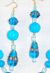 Close up of drop earrings