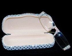 Silver frames with Silver Sequin hard case