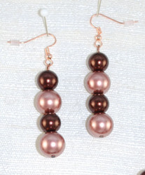 Close up of drop earrings