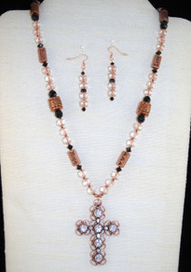 Full view of spiritual necklace set