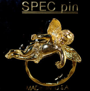 Gold holder pin, also may be ordered in Silver