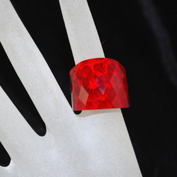 Heart Design ring on hand model
