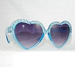 Aqua sunglasses 3/4 view