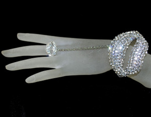 Slave bracelet on hand model