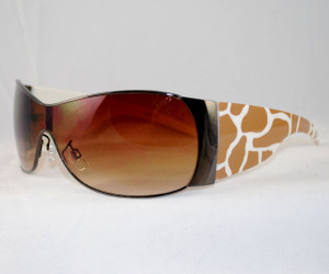 3/4 View of Giraffe sunglasses