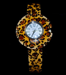 Close up of Leopard watch