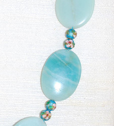close up of  Cloisonne beads