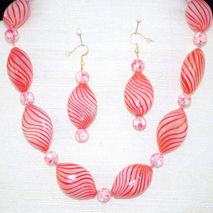 """Full view of 19"""" necklace set"""