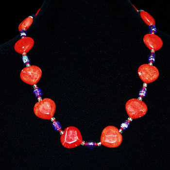 View of entire necklace