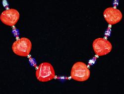 Close up of beads