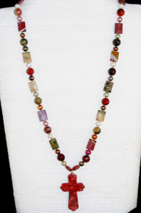 Front full view of necklace