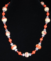 Full view of necklace