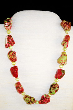 Trendy and fun nugget necklace