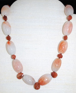"Full view of 21"" necklace"
