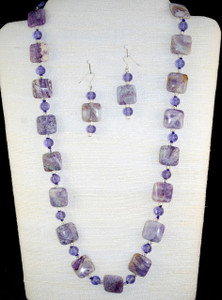 Entire view of necklace set
