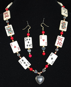 "Full 22"" necklace set"