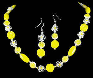 View of necklace set