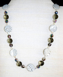 Full front view of necklace