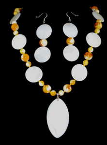 """Full view of 22"""" necklace"""