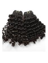 Bella hair kinky curl: 100 % Brazilian virgin human hair