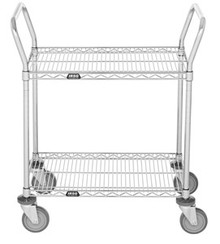 2 Shelf Wire Utility Cart 2460R2C