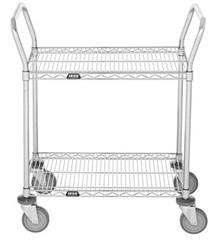 2 Shelf Wire Utility Cart 2460R2C