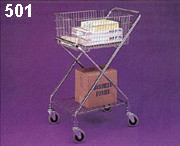 Wire Basket Utility Cart 501