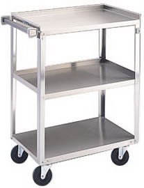 Stainless Steel Utility Cart 411M