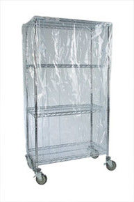 Cart Cover-Clear Vinyl 244863-CV