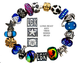 Long Boat Key Bead