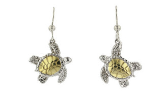 Reyes Del Mar Turtle Earrings