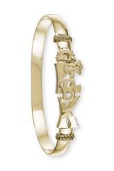 Long Boat Key 14k Yellow gold bracelet