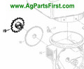 Herb.-Insect. Drive Sprocket (W247954B)