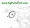 Seed Disc Drive Sprocket (W247955B)