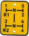 Shift Pattern Plate E908-R