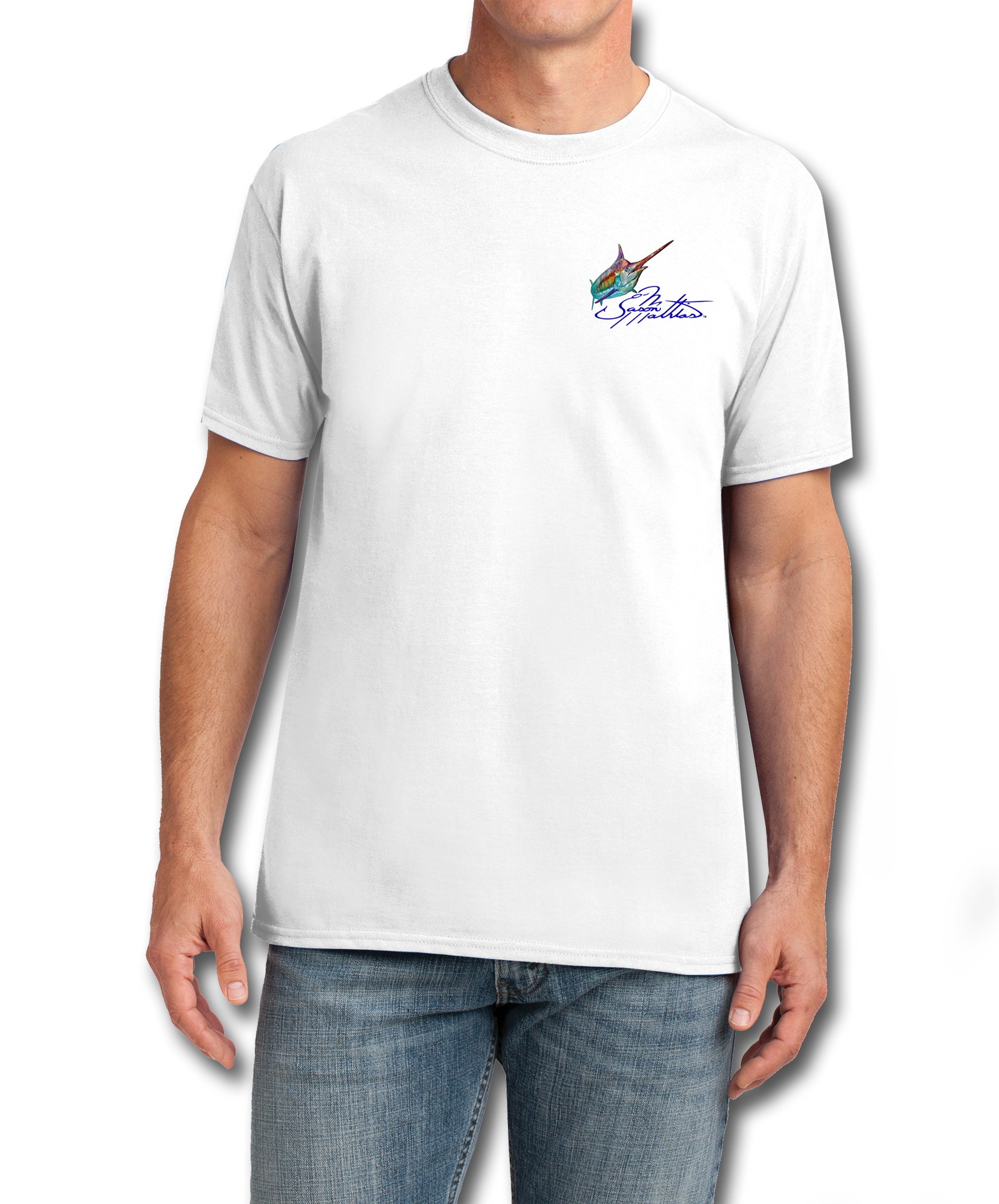 cotton-feel-t-shirt-white-jason-mathias-art-blue-marlin.png