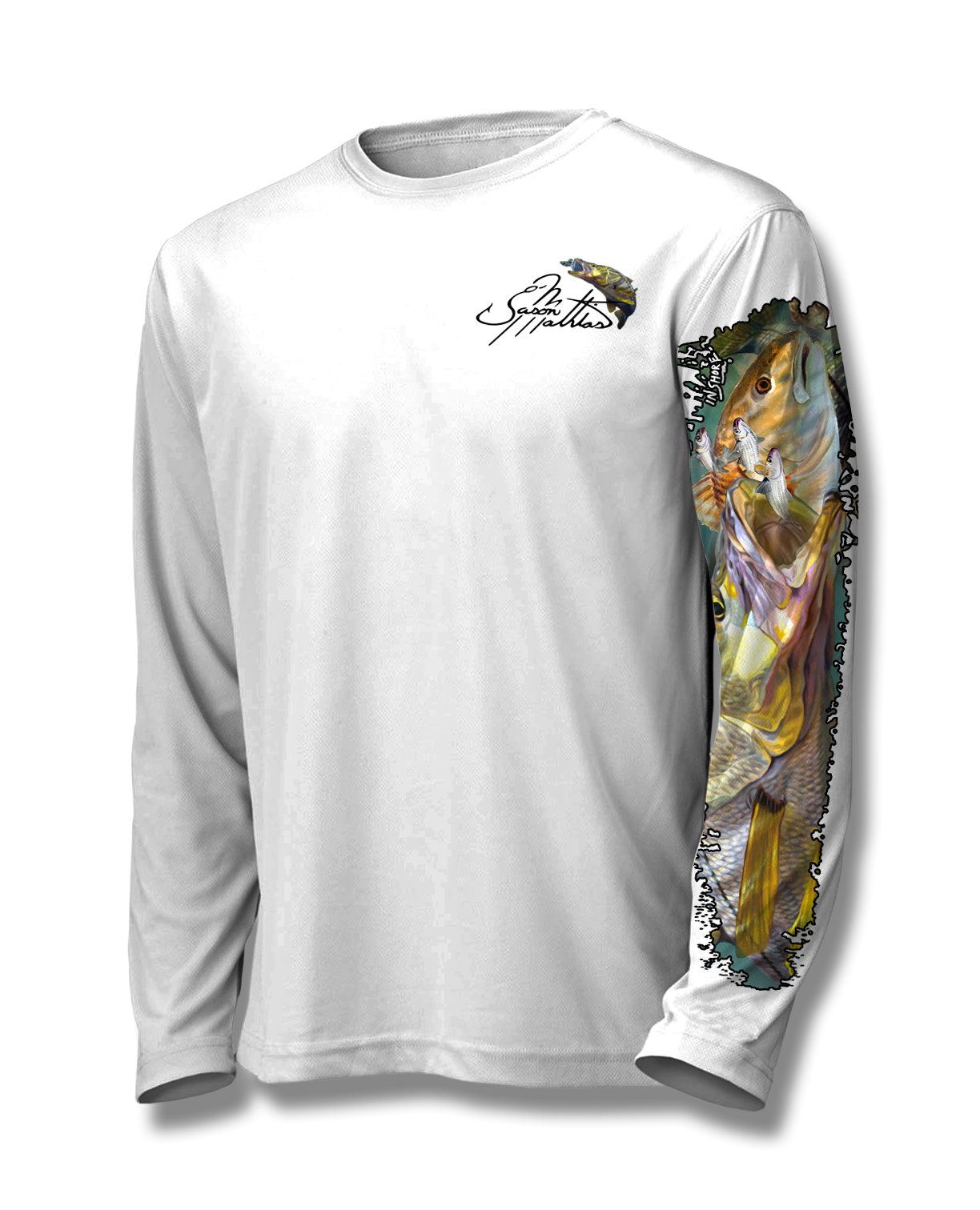 inshore-redfish-snook-shirt-white-front-jason-mathias.png