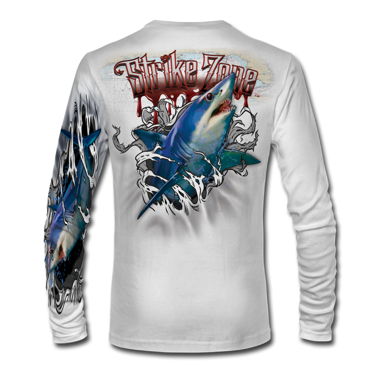 jason-mathias-strike-zone-mako-shark-fishing-shirt-back-white.png