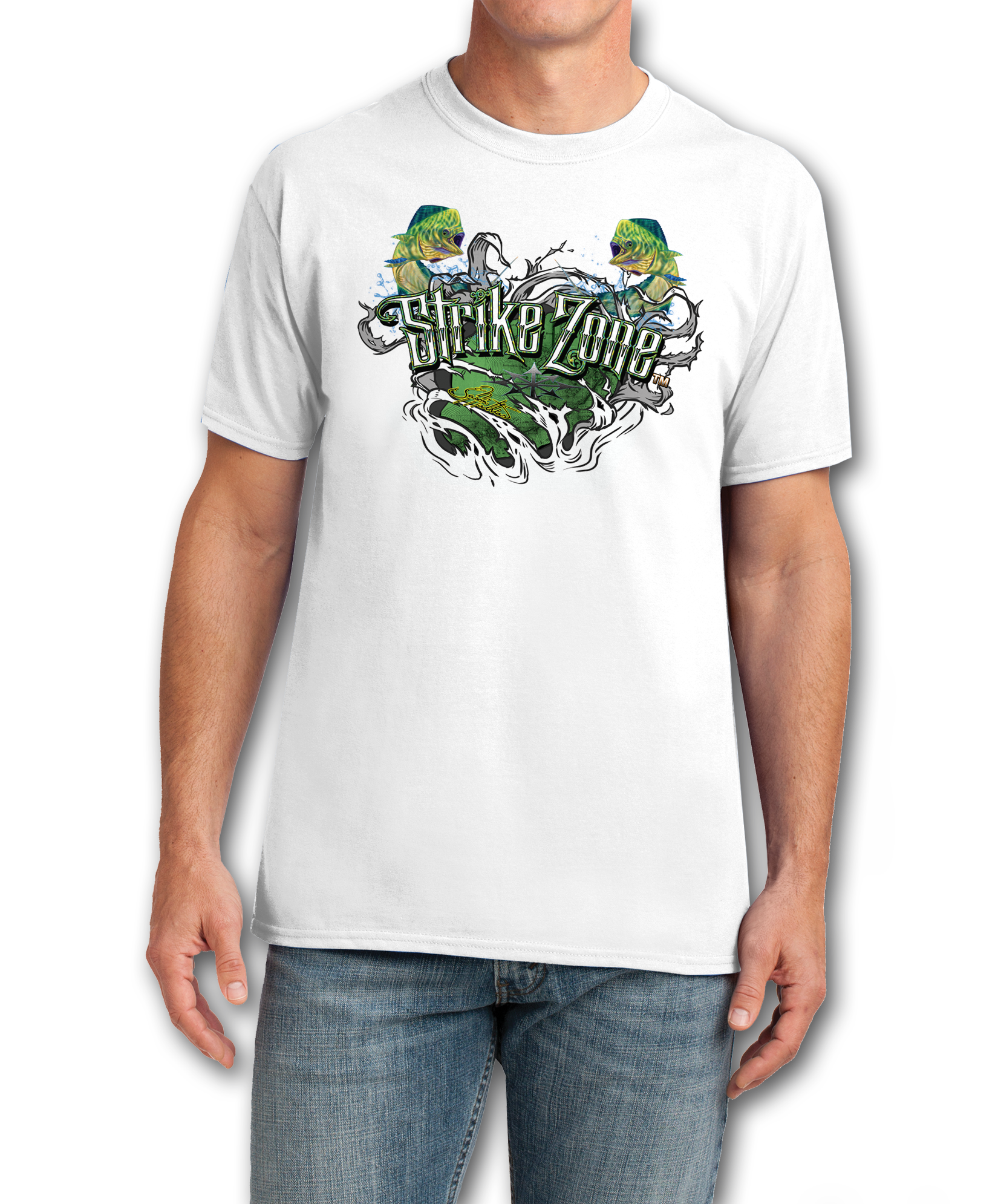 t-shirt-jason-mathias-cotton-white-mahi-dorado-dolphin-front-chest.png