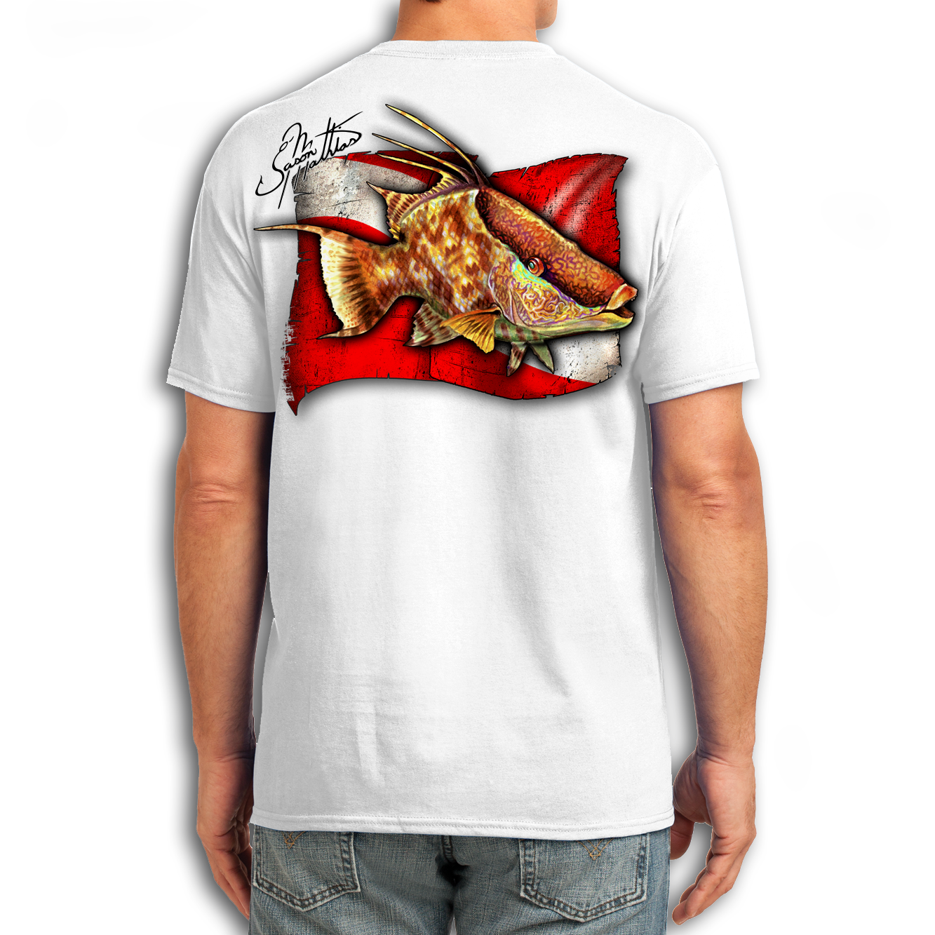 t-shirt-short-sleeve-cotton-white-jason-mathias-art-hogfish-dive-flag.png