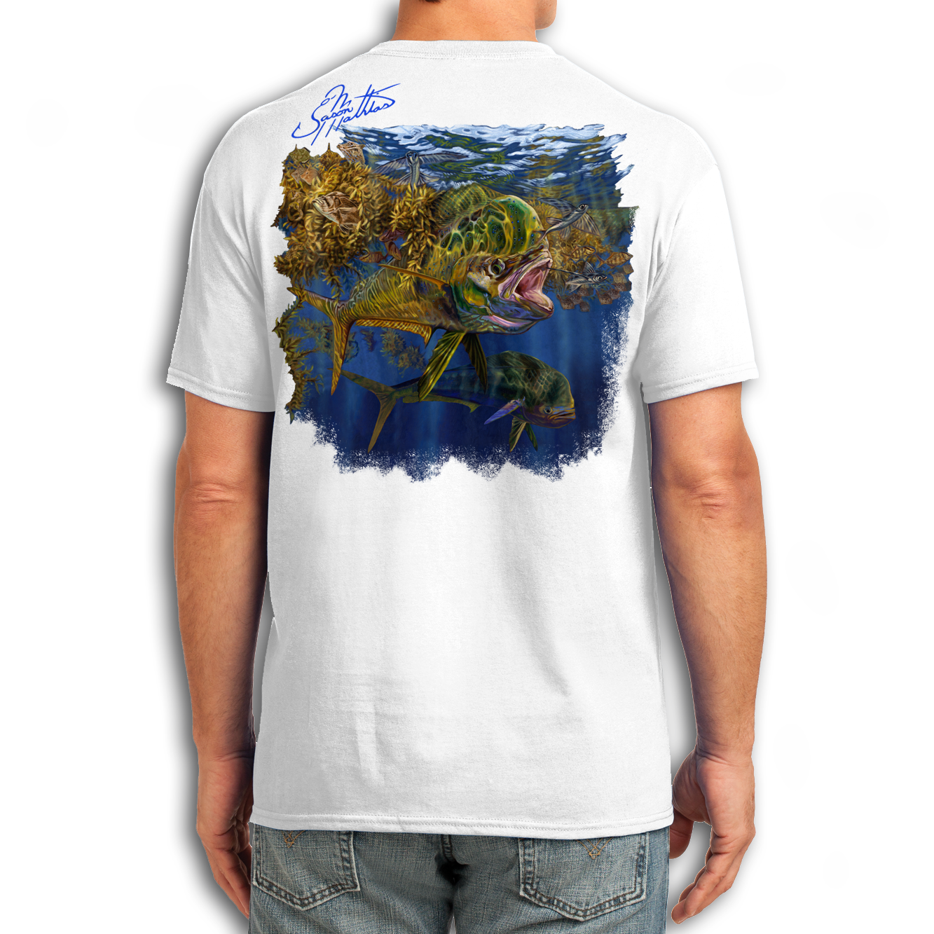 t-shirt-short-sleeve-white-jason-mathias-art-mahi-dorado-dolphin-offshore.png