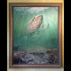 Original oil painting by Jason Mathias. Tarpon.