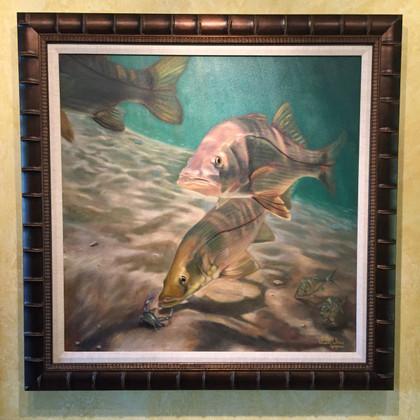Original Jason Mathias Snook Painting.