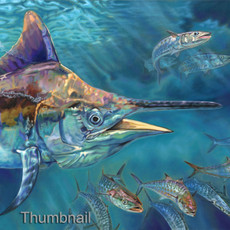 Liquid Metal (Black Marlin)