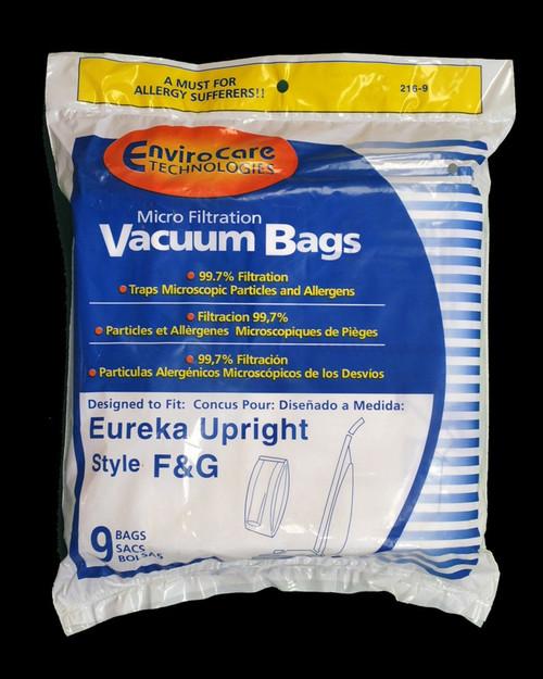 Eureka F &G Vacuum Bags 9/PKG